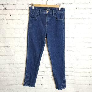 J Brand Jeans - Jbrand Ruby High-Rise Cropped Cigarette Match Jean